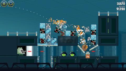 Игра Angry Birds Star Wars вышла для iOS и Android