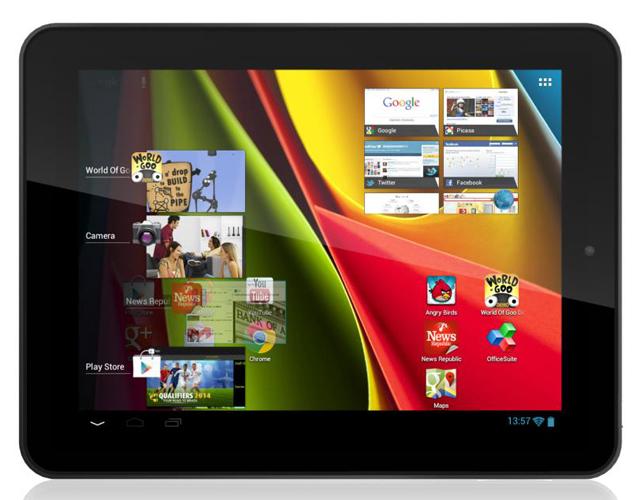 8-дюймовый планшет Archos 80 Cobalt