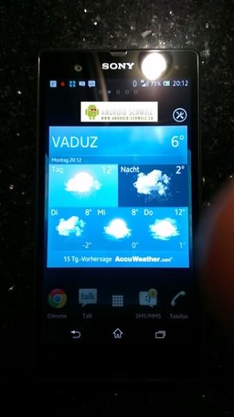 Смартфон Sony C6603 Yuga засветился на фото