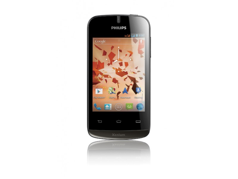 Philips Xenium W336 - недорогой Android-смартфон с поддержкой NFC