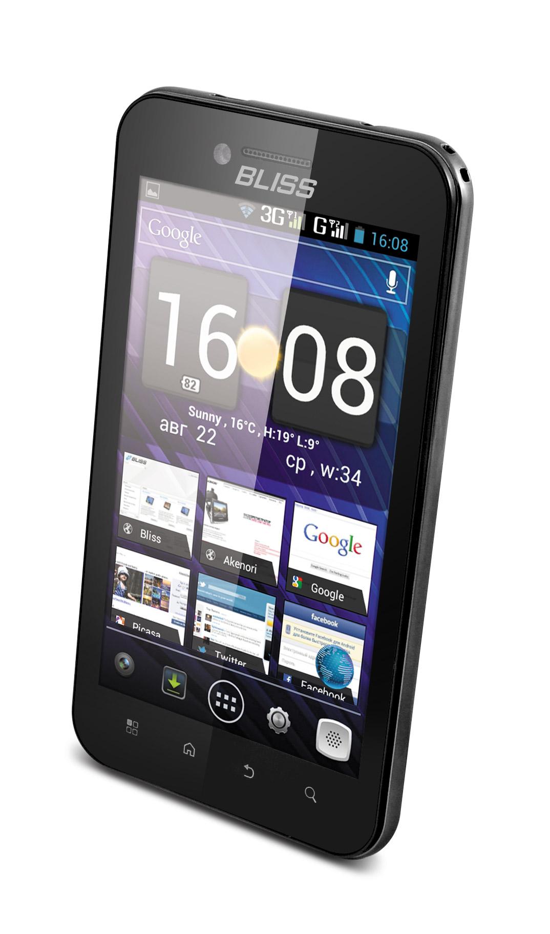 Смартфон Bliss S5 с 5-дюймовым дисплеем и поддержкой двух SIM-карт