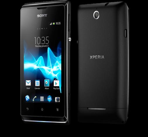 Sony анонсировала бюджетный смартфон Xperia E