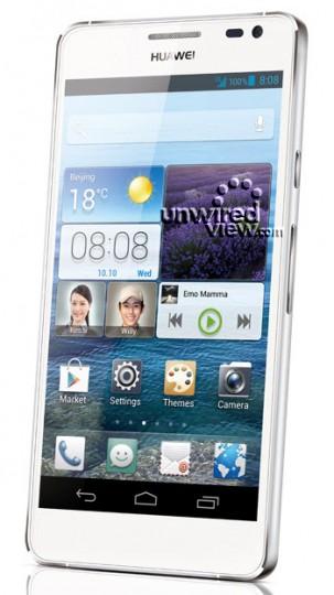 Новый смартфон Huawei Ascend D2 представят на CES 2013
