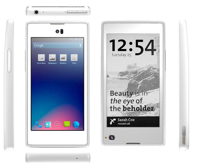 Отечественный смартфон с двумя экранами - YotaPhone