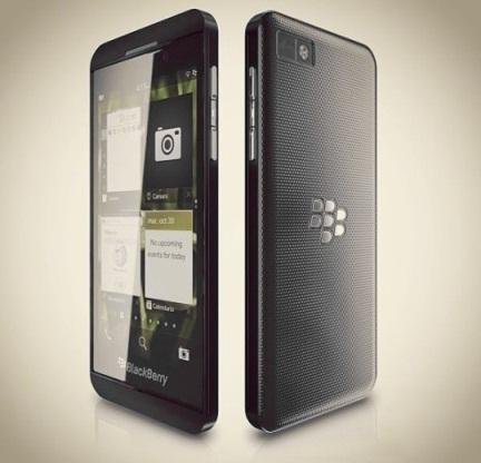 Стали известны характеристики смартфона BlackBerry Z10