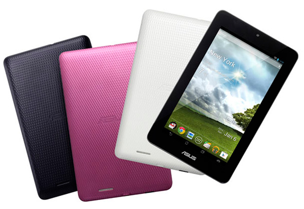 Asus представила 7-дюймовый планшет MeMO Pad