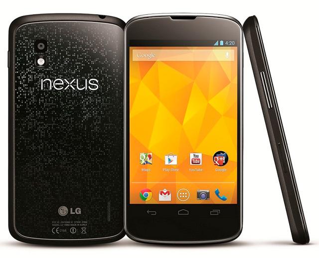Начались официальные продажи Nexus 4 в России