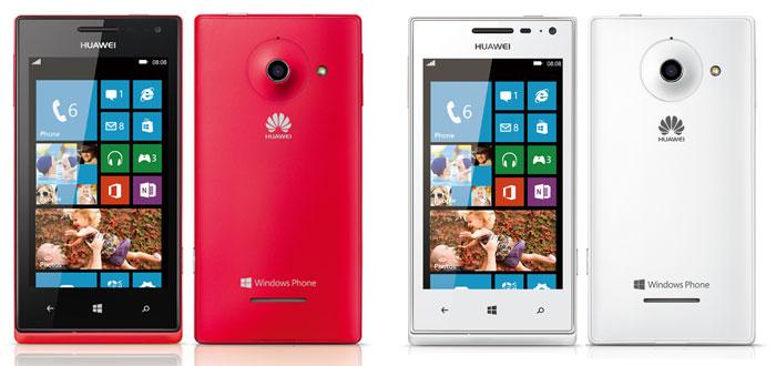 CES 2013: Huawei Ascend W1 - недорогой смартфона на Windows Phone 8