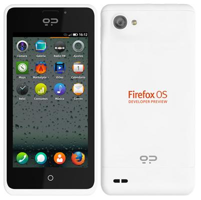 Смартфон Peak на Firefox OS