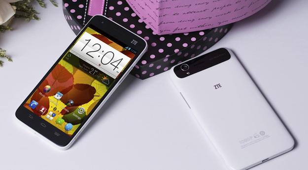 CES 2013: четырехъядерный смартфон с Full HD-дисплеем от ZTE