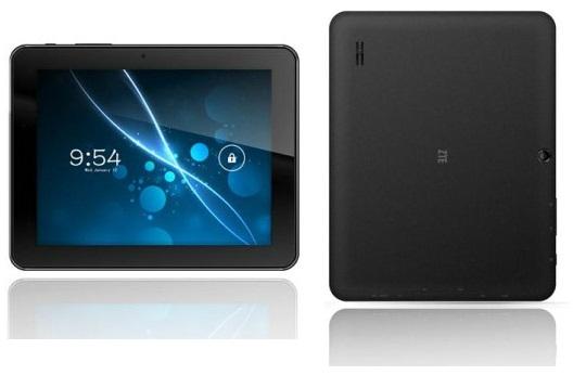 Анонсирован 8-дюймовый планшет на Android 4.1 - ZTE V81