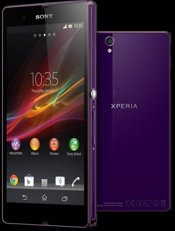 """Смартфон Sony Xperia Z выйдет со """"стоковым"""" Android"""