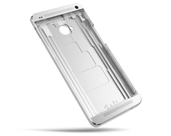 Цельный алюминиевый корпус HTC One