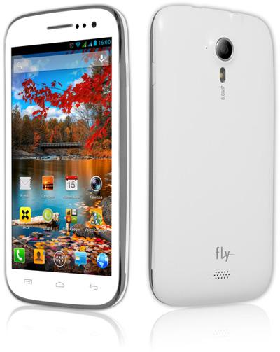 Fly Vista с четырехъядерным процессором и Android Jelly Bean