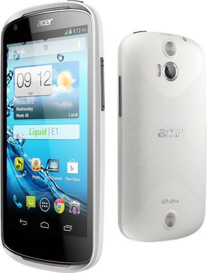 Представлены смартфоны Acer Liquid E1 и Liquid  Z2