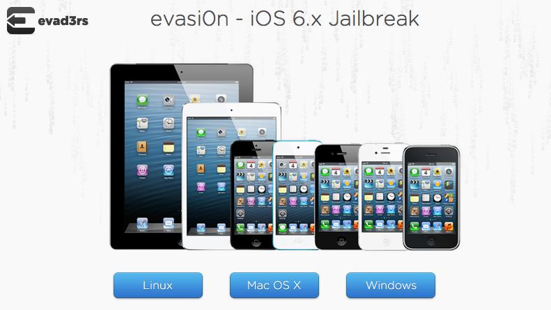 Вышла утилита Evasi0n для джейлбрейка iOS 6.1