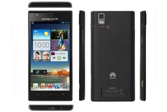 Новый смартфон Huawei Stream X GL07S