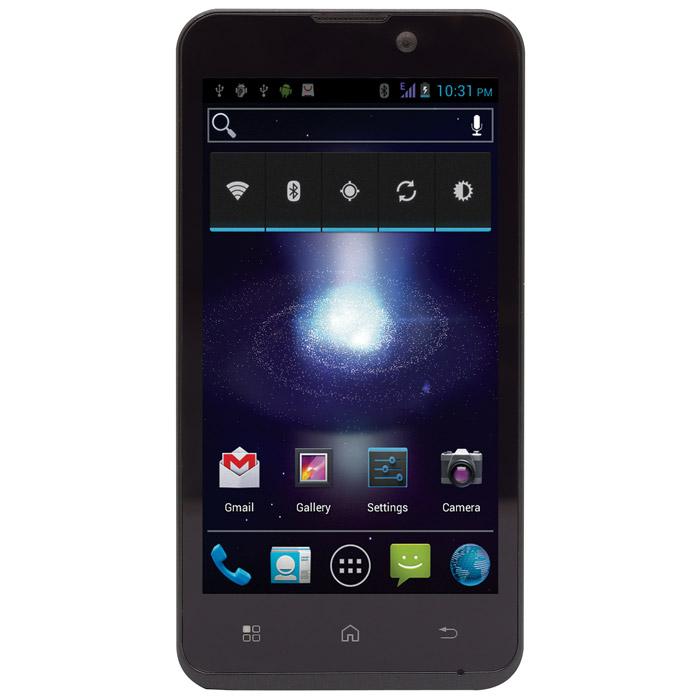 Бюджетный смартфон Ritmix RMP-450 с поддержкой двух SIM-карт