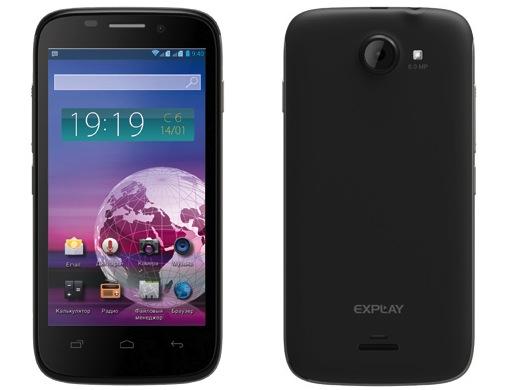 Explay Vision: двухъядерный смартфон с 4,5-дюймовым дисплеем
