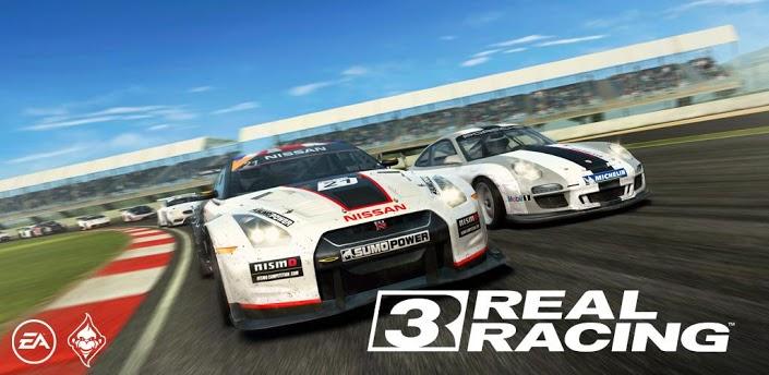 Real Racing 3 доступен в Google Play