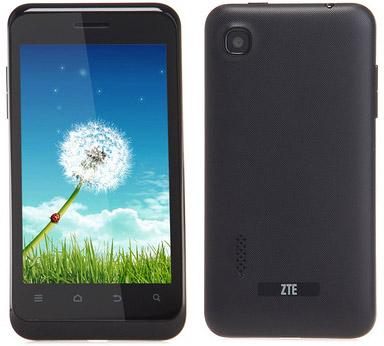 ZTE представила бюджетный двухъядерный смартфон на Android Jelly Bean