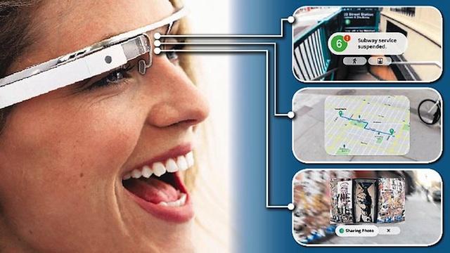 Технические характеристики Google Glass