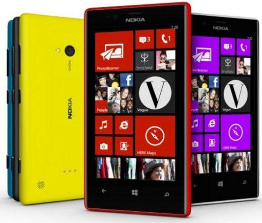 Смартфон Nokia Lumia 720 появился в России