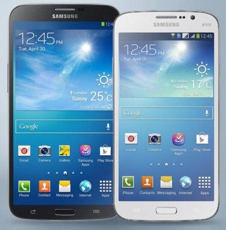 Российские цены на Samsung Galaxy Mega 5.8 и Galaxy Mega 6.3