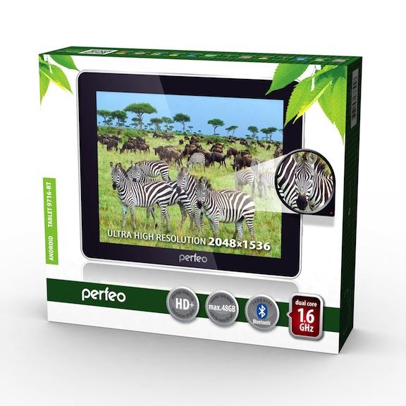 Планшет Perfeo 9716-RT с дисплеем высокого разрешения за 7800 рублей