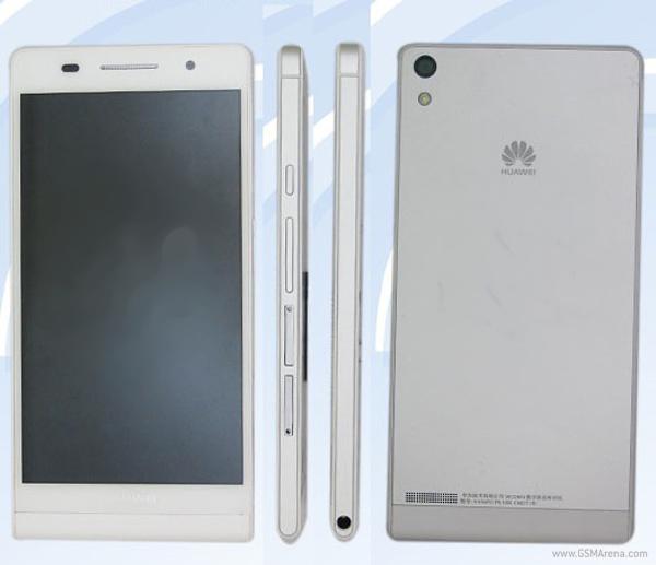 Самый тонкий смартфон - Huawei P6-U06