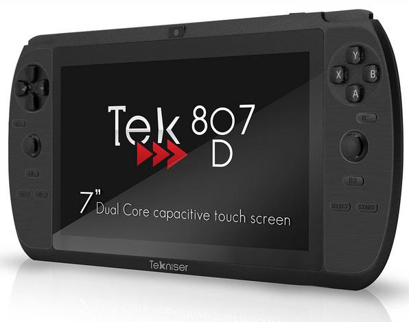 Игровой планшет Tekniser Tek 807D под управление Android 4.1 Jelly Bean