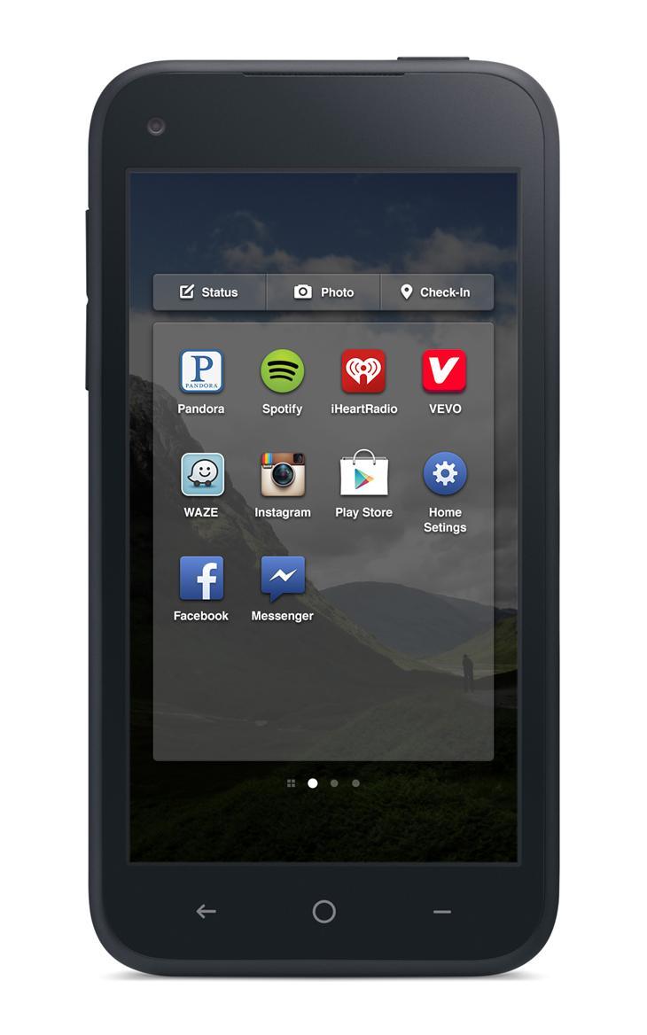 Видоизмененный экран приложений