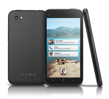 HTC и Facebook представили социальный смартфон за $99