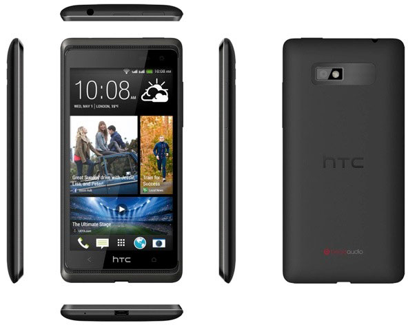 Представлен смартфон HTC Desire 600 на четырехъядерном процессоре
