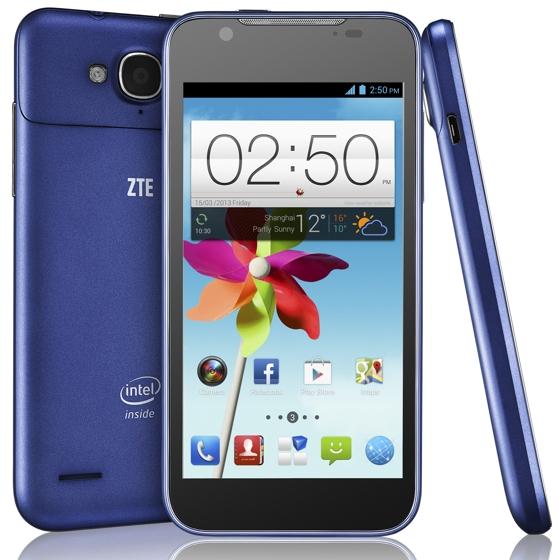 Представлен смартфон ZTE Grand X2 на процессоре Intel Atom