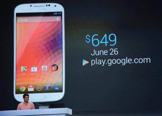 "Анонсирован Samsung Galaxy S4 с ""чистым"" Android"
