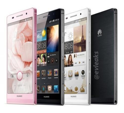 Официальные фото самого тонкого смартфона Huawei Ascend P6