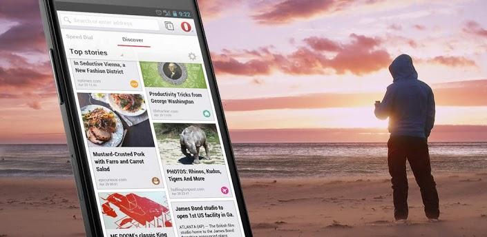 Представлена финальная версия браузера Opera для Android на движке WebKit