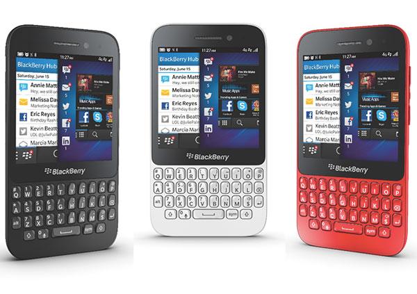 Новый смартфон BlackBerry Q5