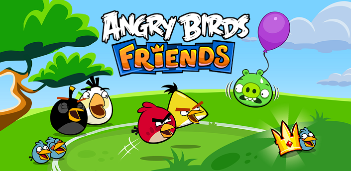 Вышла игра Angry Birds Friends