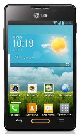 Бюджетный смартфон LG Optimus L4 II выходит в России