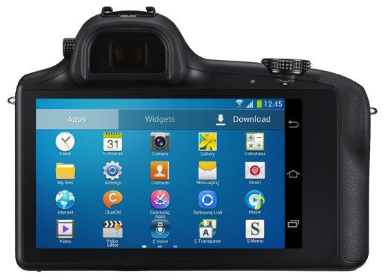 Samsung представила фотоаппарат Galaxy NX на Android