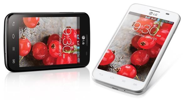 Смартфон LG Optimus L4 II Dual выходит в России