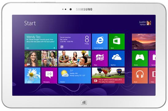 Windows-планшет Samsung Ativ Tab 3 на Intel Clover Trail