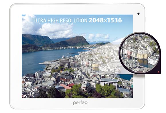 Топовой планшет Perfeo 9748-RT с 4-ядерным процессором и экраном высокого разрешения