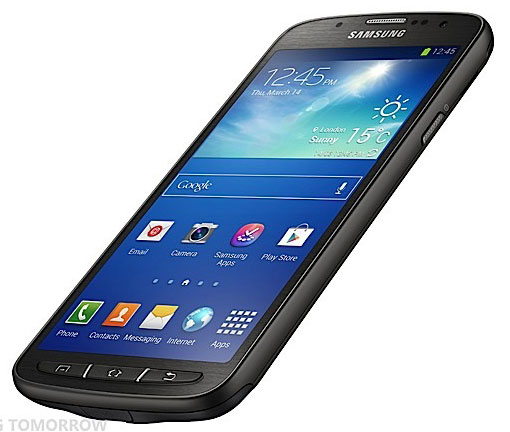 Представлен защищенный смартфон Samsung Galaxy S4 Active