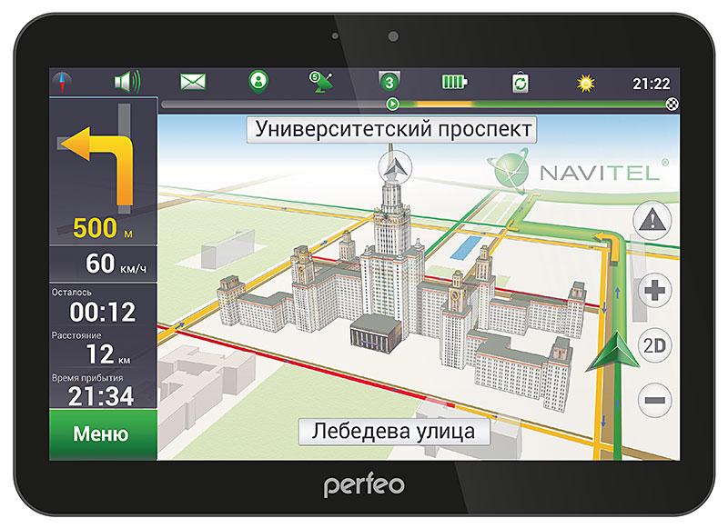 """Универсальный 10"""" планшет Perfeo 1019-IPS для работы, развлечений и путешествий"""