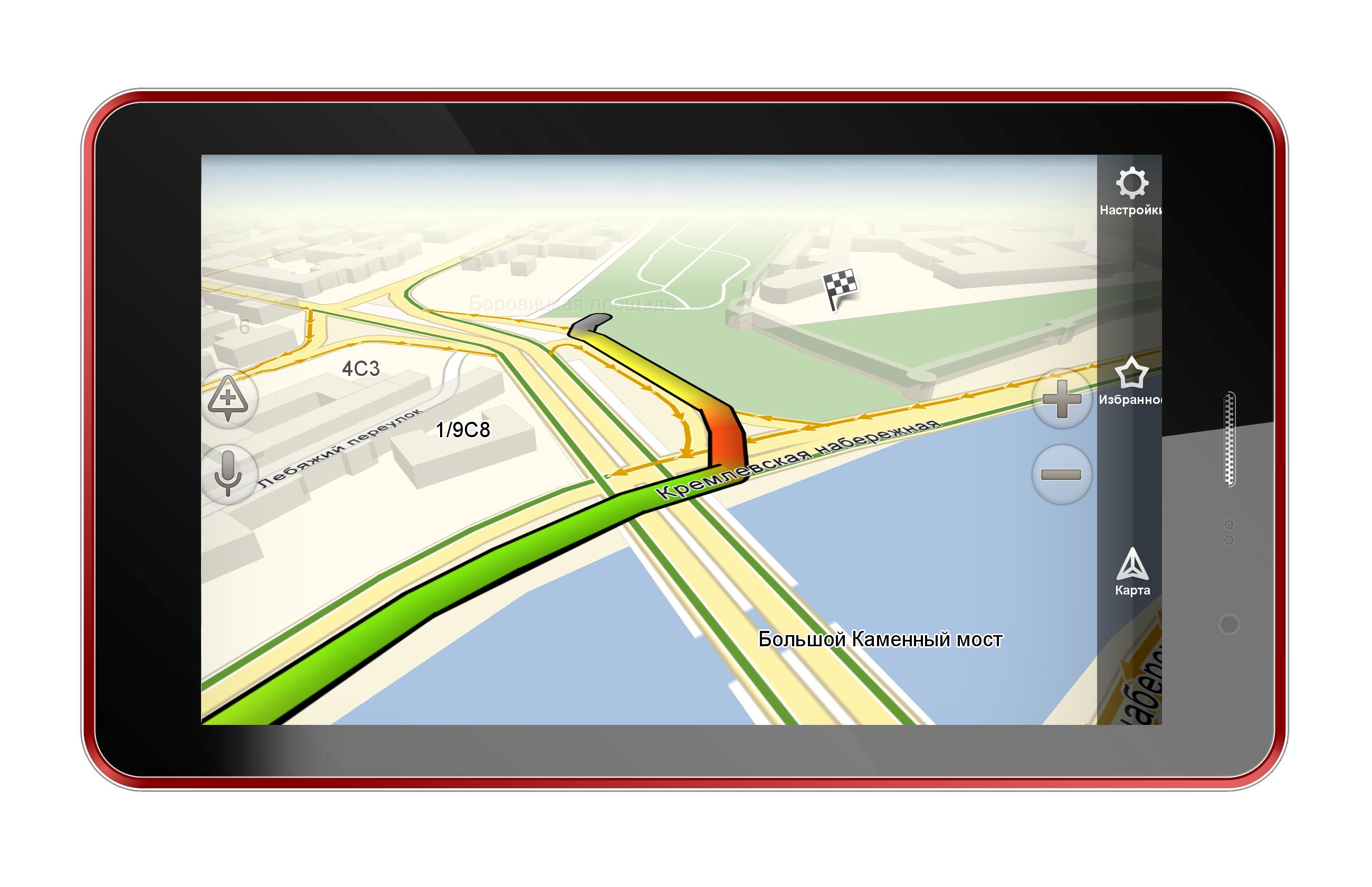"""Доступный 7"""" планшет Perfeo 7012-3G в стильном корпусе"""
