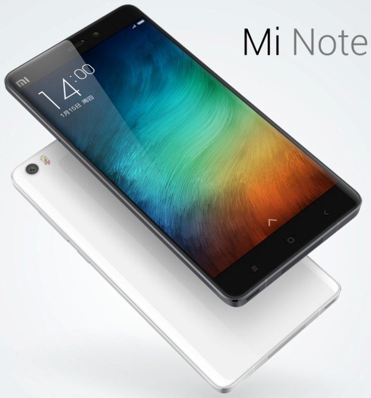 Названы цены на Xiaomi Mi Note и Mi Note Pro