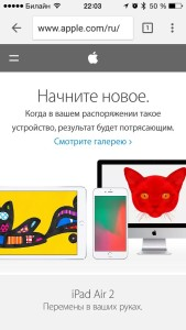 Браузер Google Chrome для iOS обновился